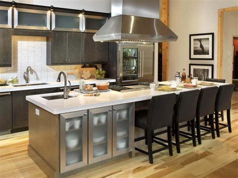 stainless steel kitchen island with seating 68 deluxe custom kitchen island ideas jaw dropping designs