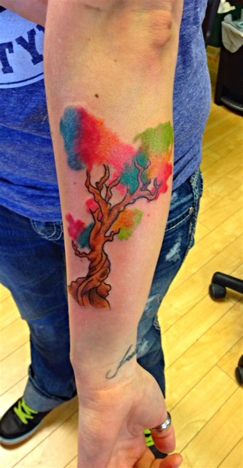 watercolor family tattoo 115 best family tree tattoo images on pinterest family