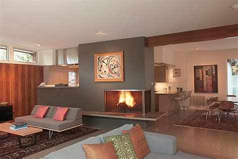 Modern Corner Fireplaces by Sleek Corner Fireplaces With Modern Flair