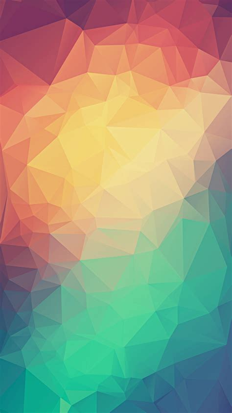 colorful wallpaper triangles colorful low poly triangles iphone 6 hd wallpaper hd