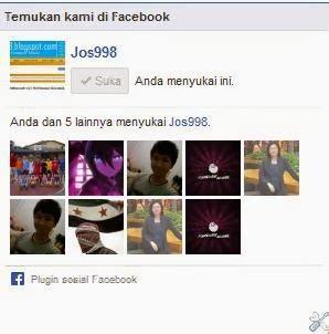 Cara Membuat Kotak Likebox Facebook Di Blog Jos998 Blog   cara membuat kotak likebox facebook di blog jos998 blog