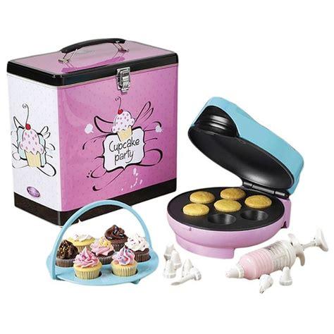 appareil 駘ectrom駭ager cuisine coffret cupcakes appareil 224 cupcakes 7 empreintes m6