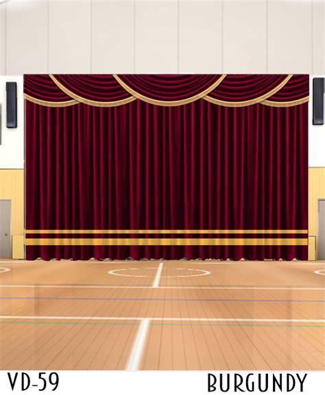 decorative curtain  stage decor