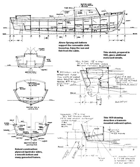 boat drawing plans guide boat plan dwg berboatbet