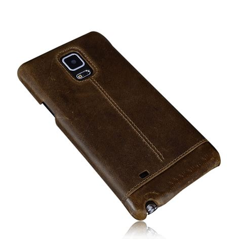 samsung galaxy note 4 genuine leather back cover inones leather co limited
