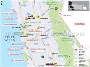 map of valley in california napa valley california wineries travel info history