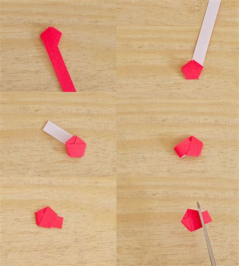 How To Make String On Paper - 187 project 144 origami light string