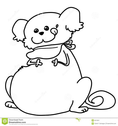 chubby puppies coloring pages fat dog clipart clipartxtras