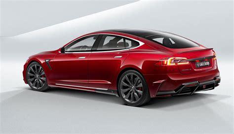 Tesla Model S Designer Larte Design Tesla Model S Gets A Sharp Makeover