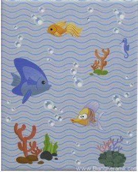 Vicenza Keramik Terbaru keramik dinding impresso aquatic blue 20x25 jaya keramik