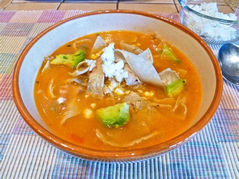 mexican tortilla soup recipe dishmaps