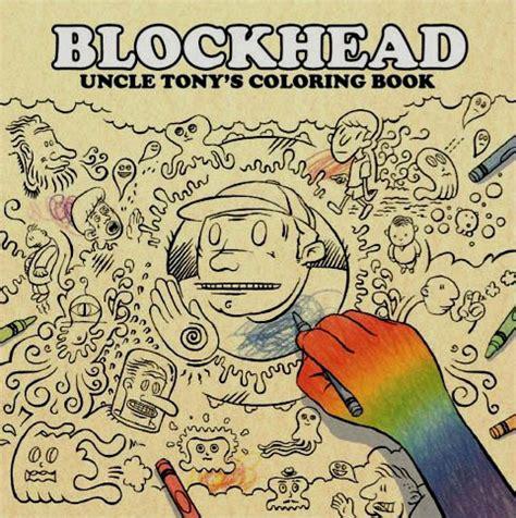 blockhead grape nuts and chalk sauce blockhead tony s coloring book