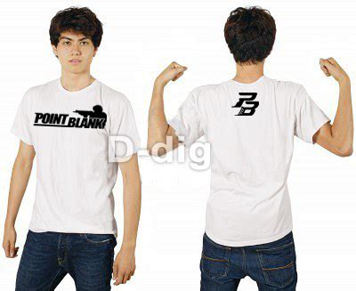 Tshirt Kaos Point Blank Viper kaos point blank of v net