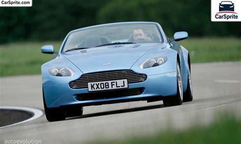 Aston Martin Vantage Roadster Price by Aston Martin Vantage Roadster 2017 Prices And
