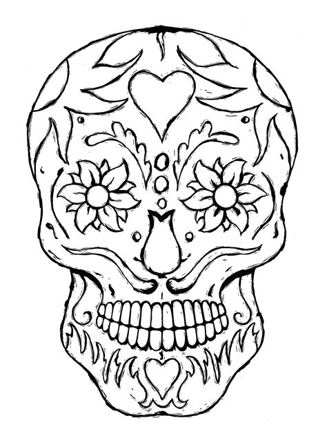 color skull tattoo designs skull