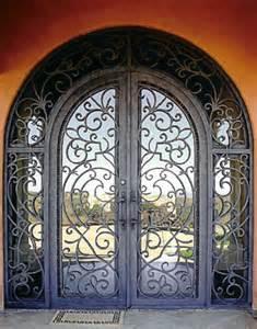 Iron Gate Front Door Iron Doors Gates And Railing