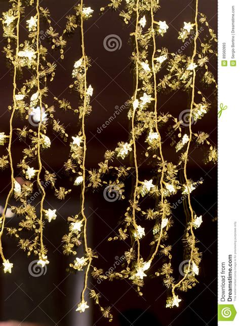 christmas lights that hang down hanging decorative christmas lights royalty free stock