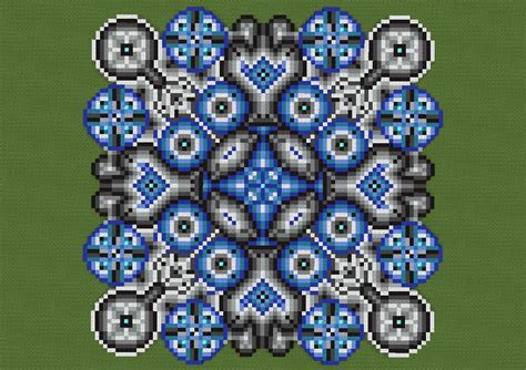 Cool Minecraft Floor Designs by Radiance Of Circles Minecraft Project