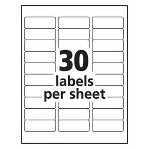 mailing label templates 30 per sheet 28 avery template 18660 free avery 174 template for