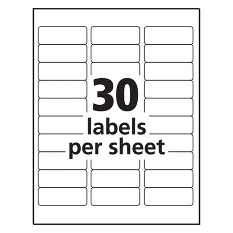 Avery 18660 Labels Www Avery Templates 18660