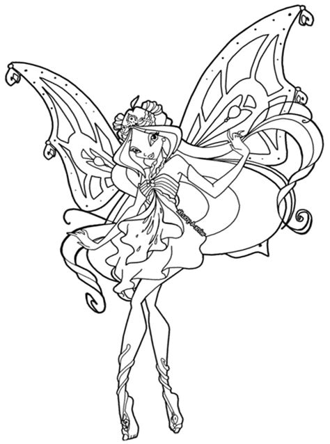 coloring pages winx club online winx club coloring pages enchantix az coloring pages