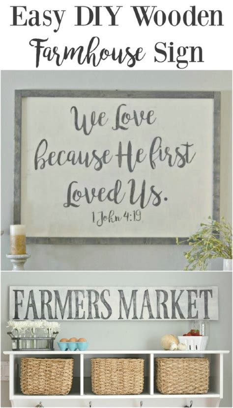 diy home decor signs 50 wood signs that will add rustic charm to your home