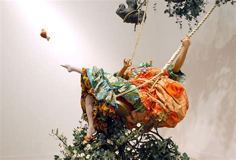 yinka shonibare the swing in pictures v for victory artist yinka shonibare s