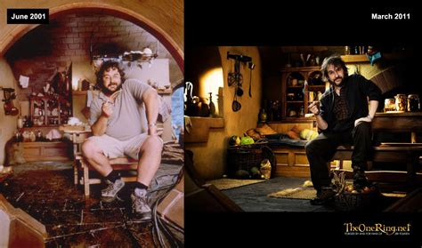 Hobbit Hole Floor Plan by Peter Jackson Then And Now Hobbit Movie News And Rumors