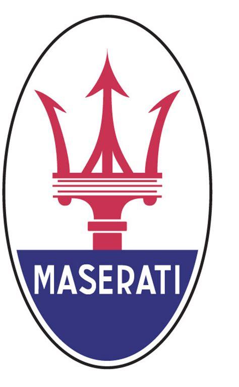 maserati trident logo maserati cartype