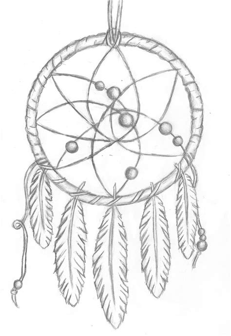 coloring pages moon dreamcatcher simple dreamcatcher drawing drawings pinterest