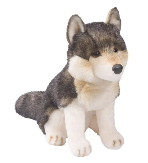 pup animal smokey the wolf pup stuffed animal northwest nature shop