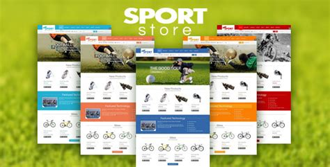 joomla sports template 12 best ecommerce themes for sports website