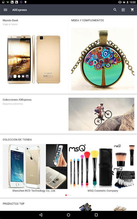 aliexpress shopping app aplicaciones de android en