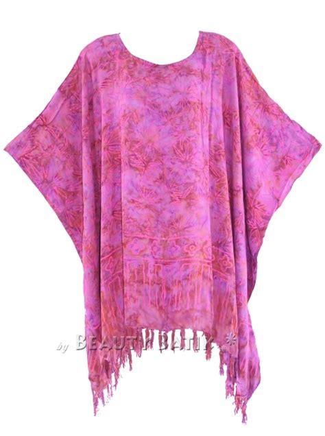 cape blouse batik block print batik kaftan poncho tunic top blouse plus size