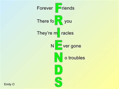 best friend acrostic poem acrostic poems with a twist web