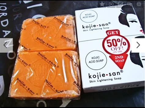 Koji San Skin Lightening Soap 16 30gr kojic acid soap review mp3