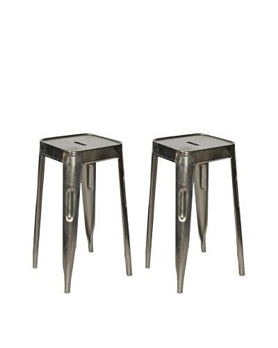 melange home reevolution revolving bar stool on wheels