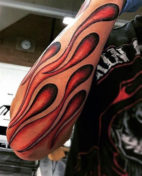 tattoo arm flames 58 incredible flame tattoos