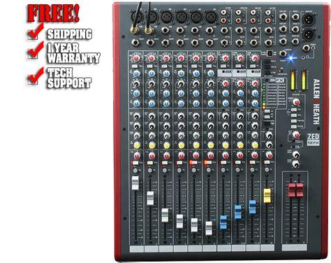 Mixer Allen Heath Zed 1200 Fx allen heath zed12fx console mixer
