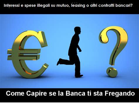 Interessi Usurari Banca by Nullit 224 Dei Contratti Con Le Banche In Quali Casi