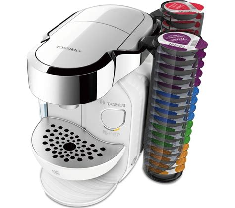 Buy TASSIMO by Bosch Caddy TAS7004GB Hot Drinks Machine   White   Free Delivery   Currys