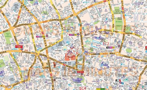 large printable road maps vinyl central london street map large size 1 2m d x 1 67m w