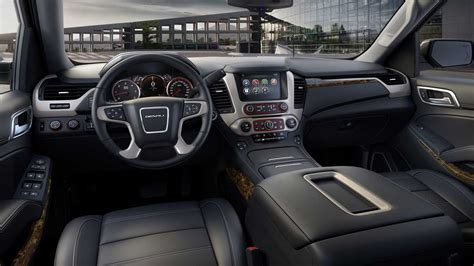 2015 Gmc Interior by 2015 Gmc Yukon Denali Review Autofluence