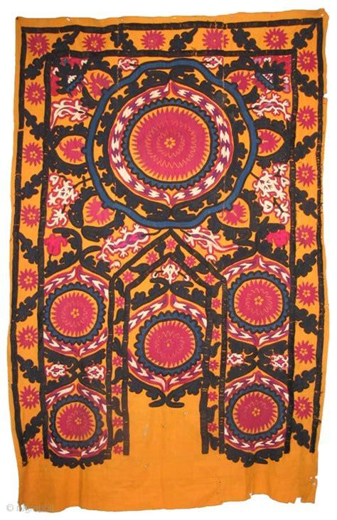 uzbek samarkand region silk handmade embroidery suzani 24900 via we want to offer wonderful uzbek antique suzani from