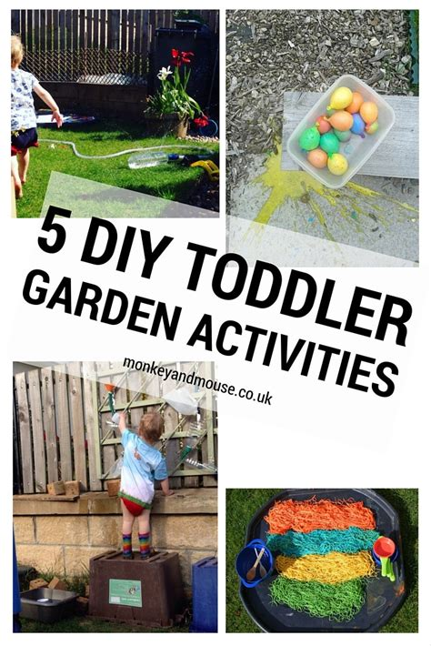 Garden Activities For Toddlers Our 5 Favourite Garden Activities For Toddlers Monkey