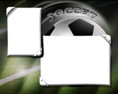 Soccer Photo Templates Memory Mate Templates