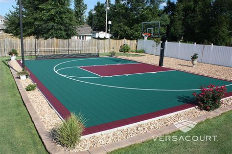 sports courts for backyards backyard basketball court backyard sports pinterest backyards put together and