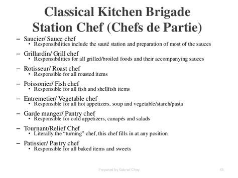 Kitchen Brigade Definition Dining Room Brigade Definition 28 Images Organization