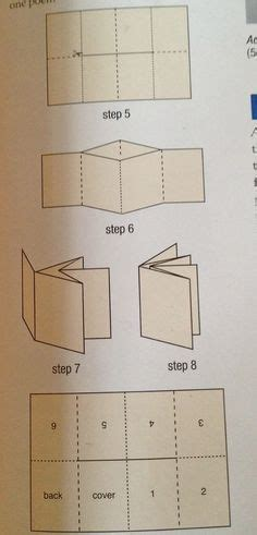 How To Make A Booklet With A4 Paper - a simple book binding tutorial with both an illustration
