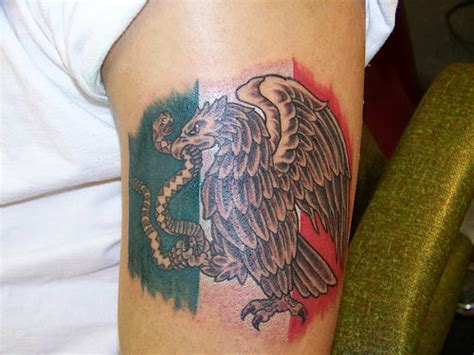 38 Incredible Mexican Tattoos Mexican Flag Tattoos Designs